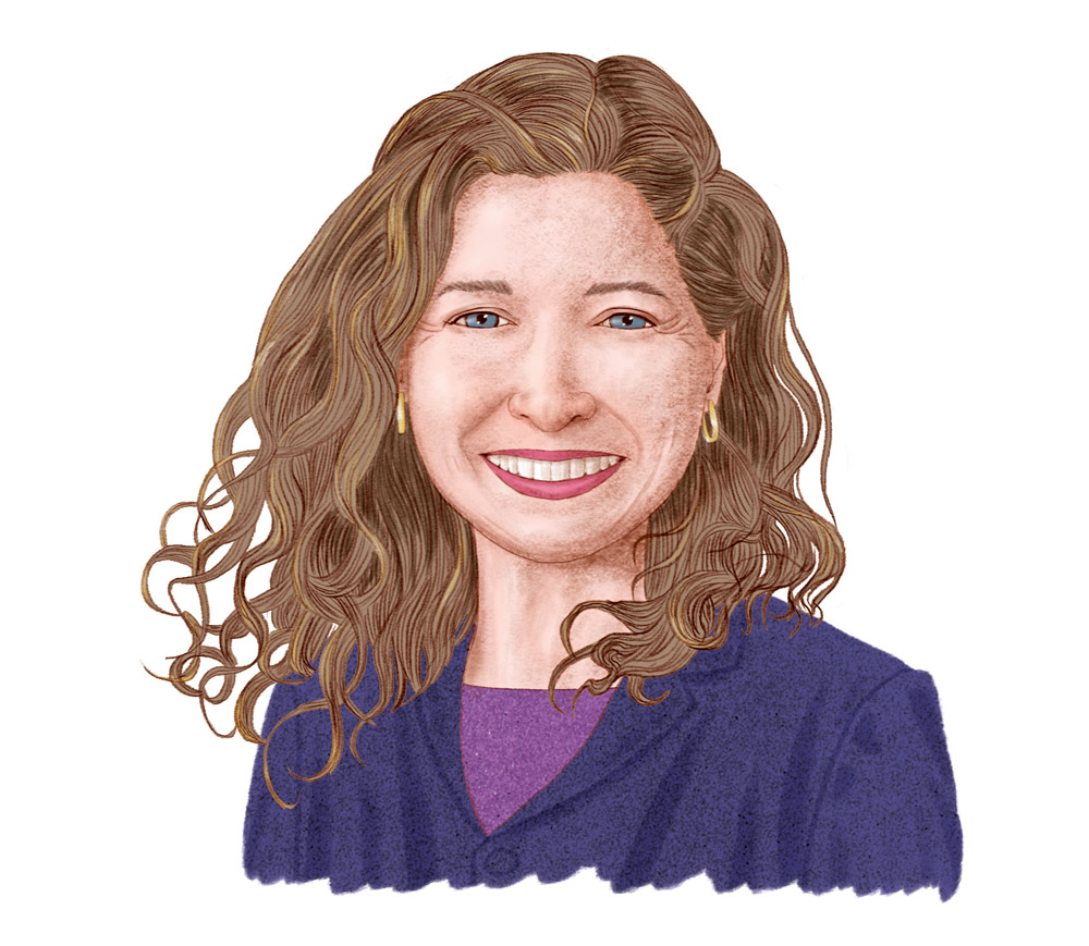 Illustration of Eva Lefkowitz