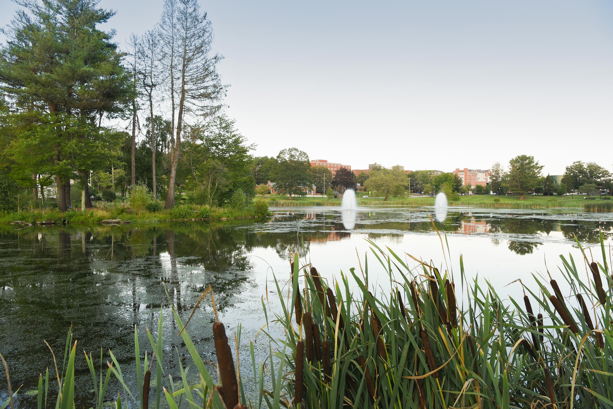 Mirror Lake, UConn Storrs Campus