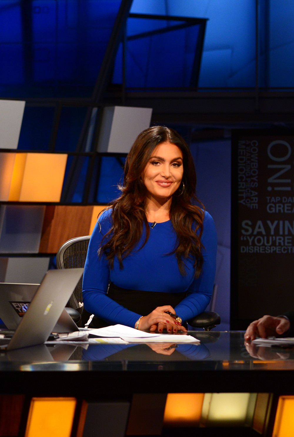 ea844d32 In the Hot Seat with ESPN's Molly Qerim - UConn Magazine