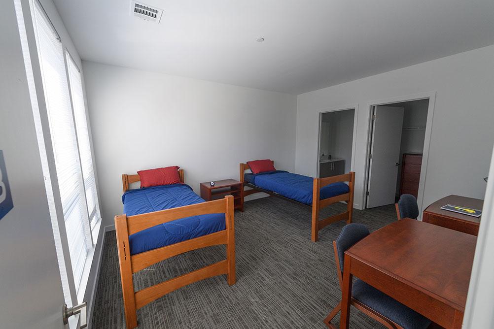 dorm room inside