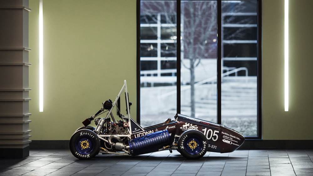 UConn's Formula Society of Automotive Engineers