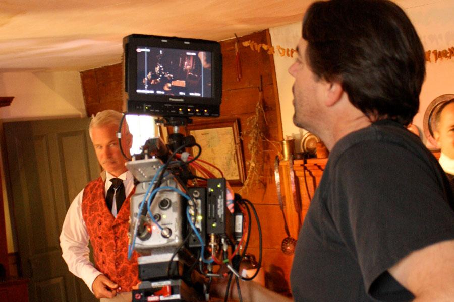 Bailey Pryor filming
