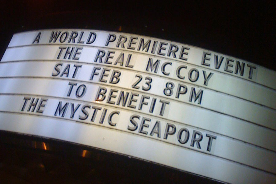 The marquee for