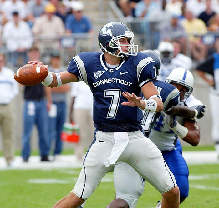 Dan Orlovsky, playing against Duke University