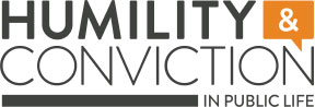 Humility and Conviction in Public Life logo