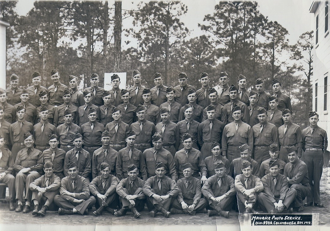 some of the recruits in Fort Benning, Georgia