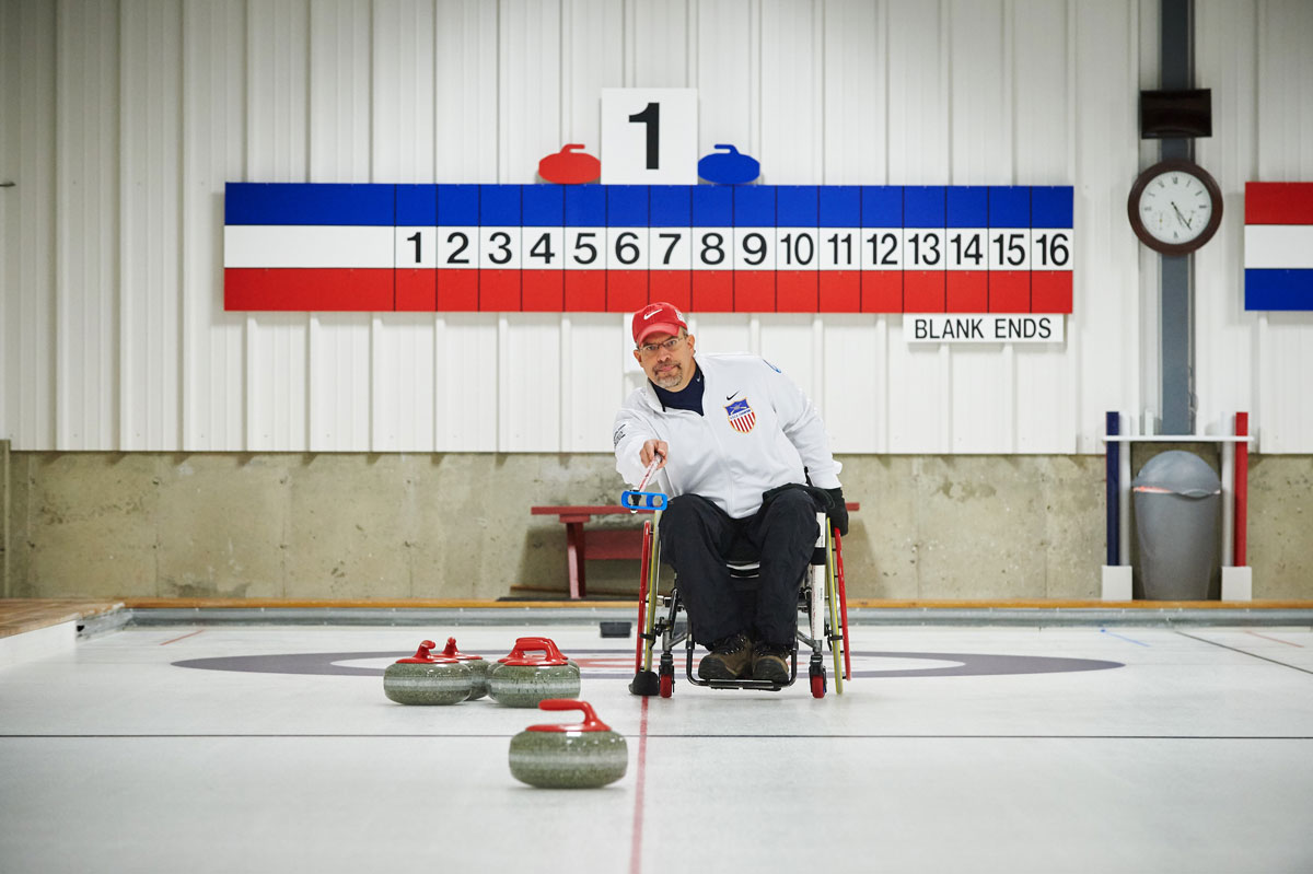 Steve Emt curling