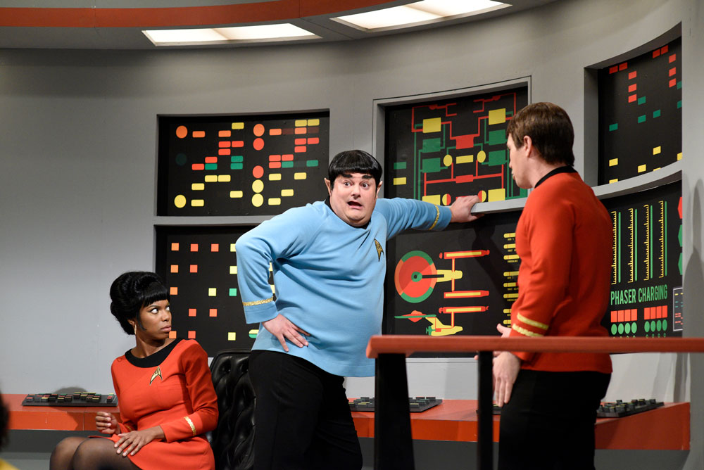 Bobby Moynihan on SNL playing Doctor Spock