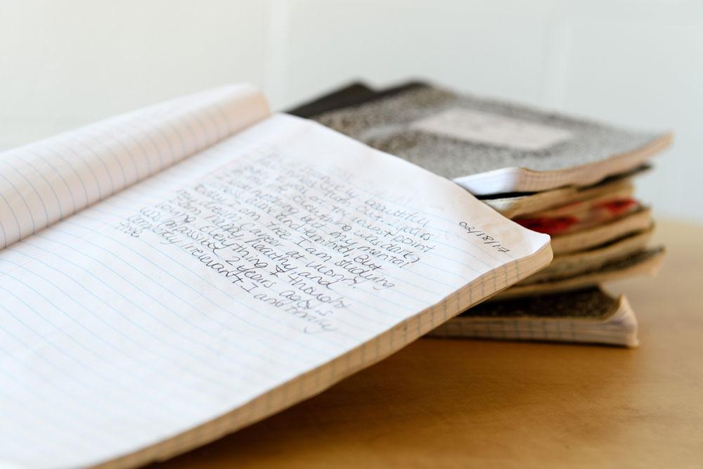 Swing Journal open