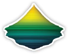 graph element depicting diamond mountain shape
