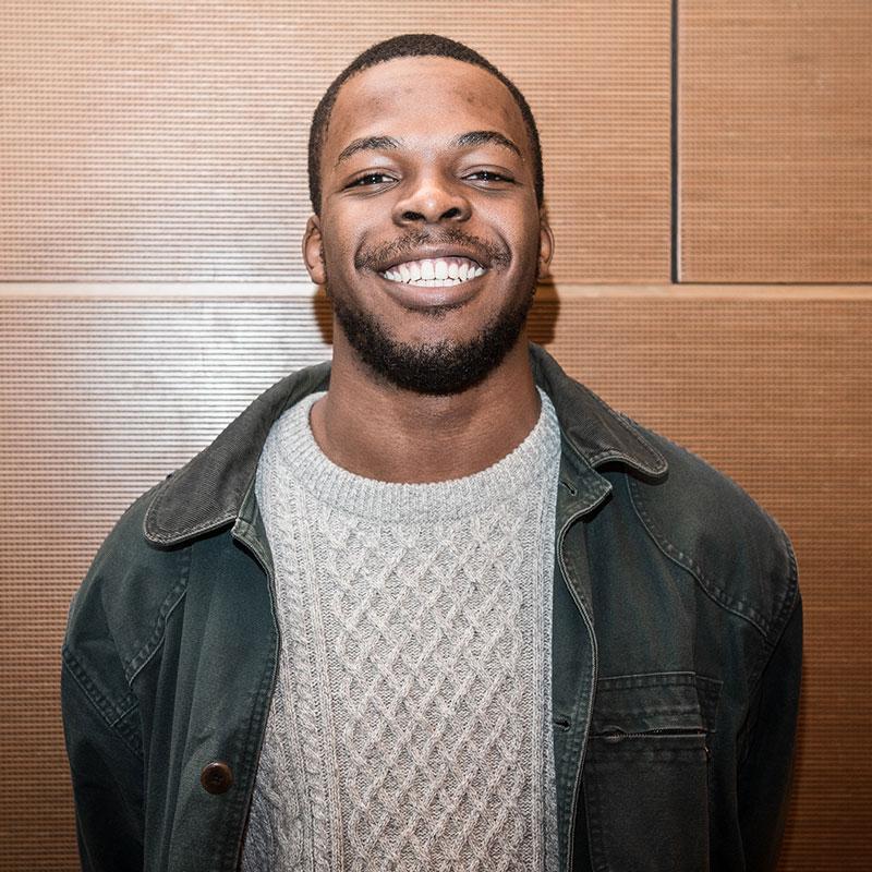 Frank Amaefuna '18 (CLAS)