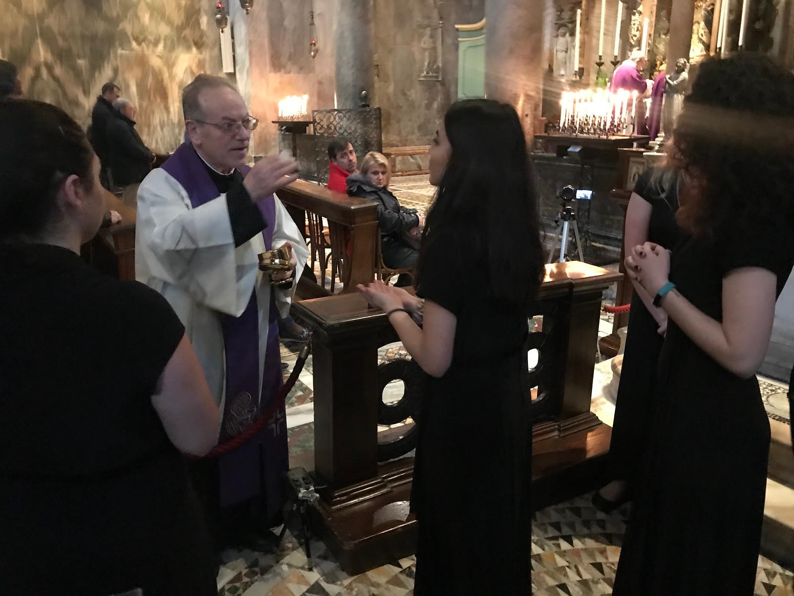 Mass in Basilica San Marco in Venice