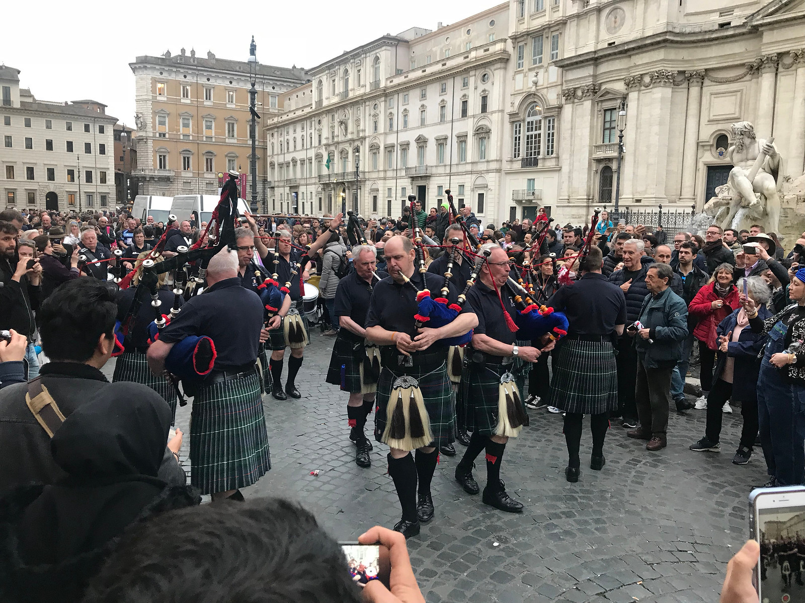 Bagpipers in Rome