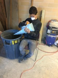 sanding mold