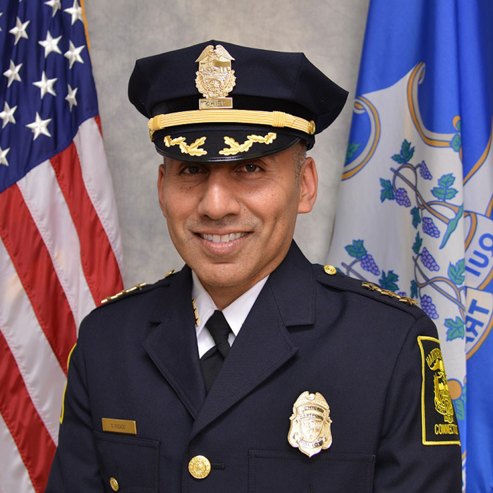 David Rosado '93 (CLAS), '07 JD is Hartford's First Latino Police Chief