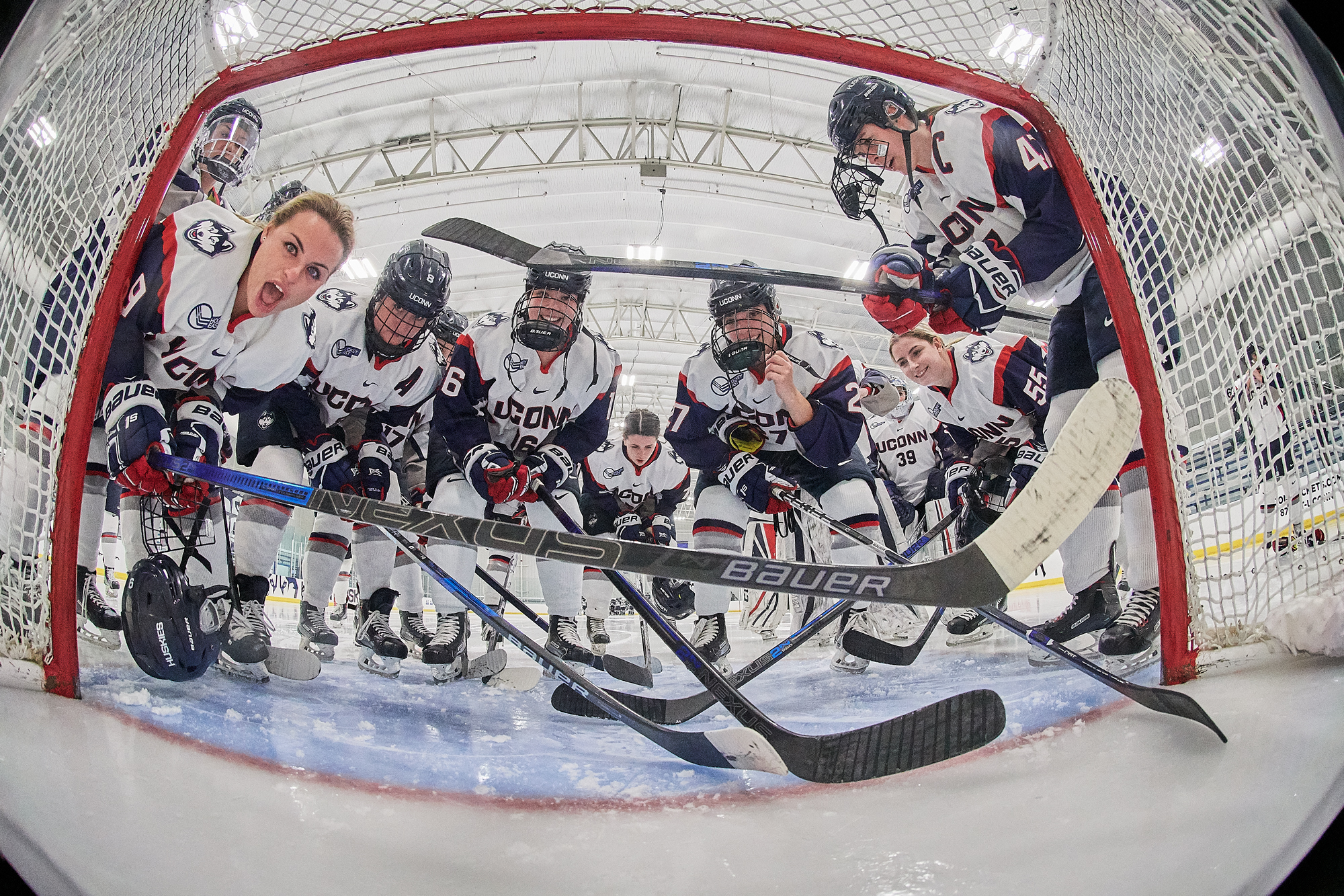 UConn Women's Hockey Team