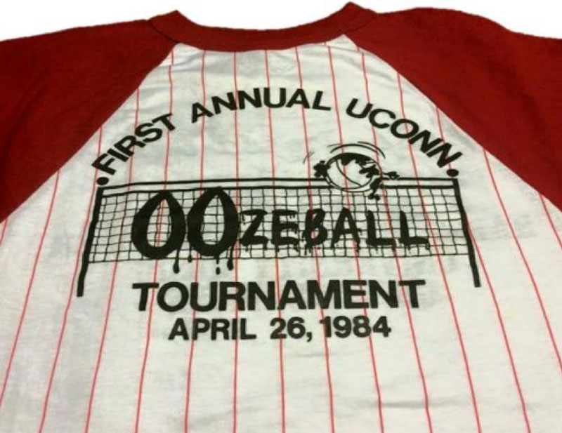 First Oozeball tournament tshirt 1984