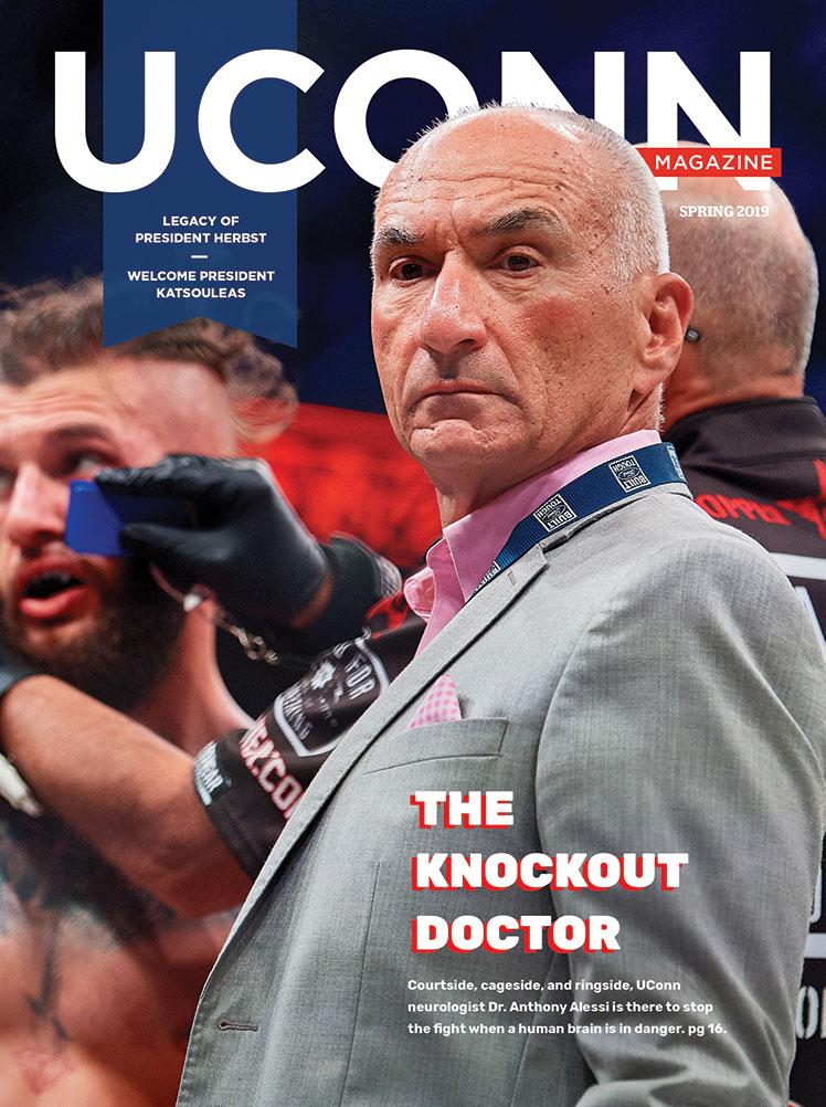 UConn Magazine Spring 2019 Cover