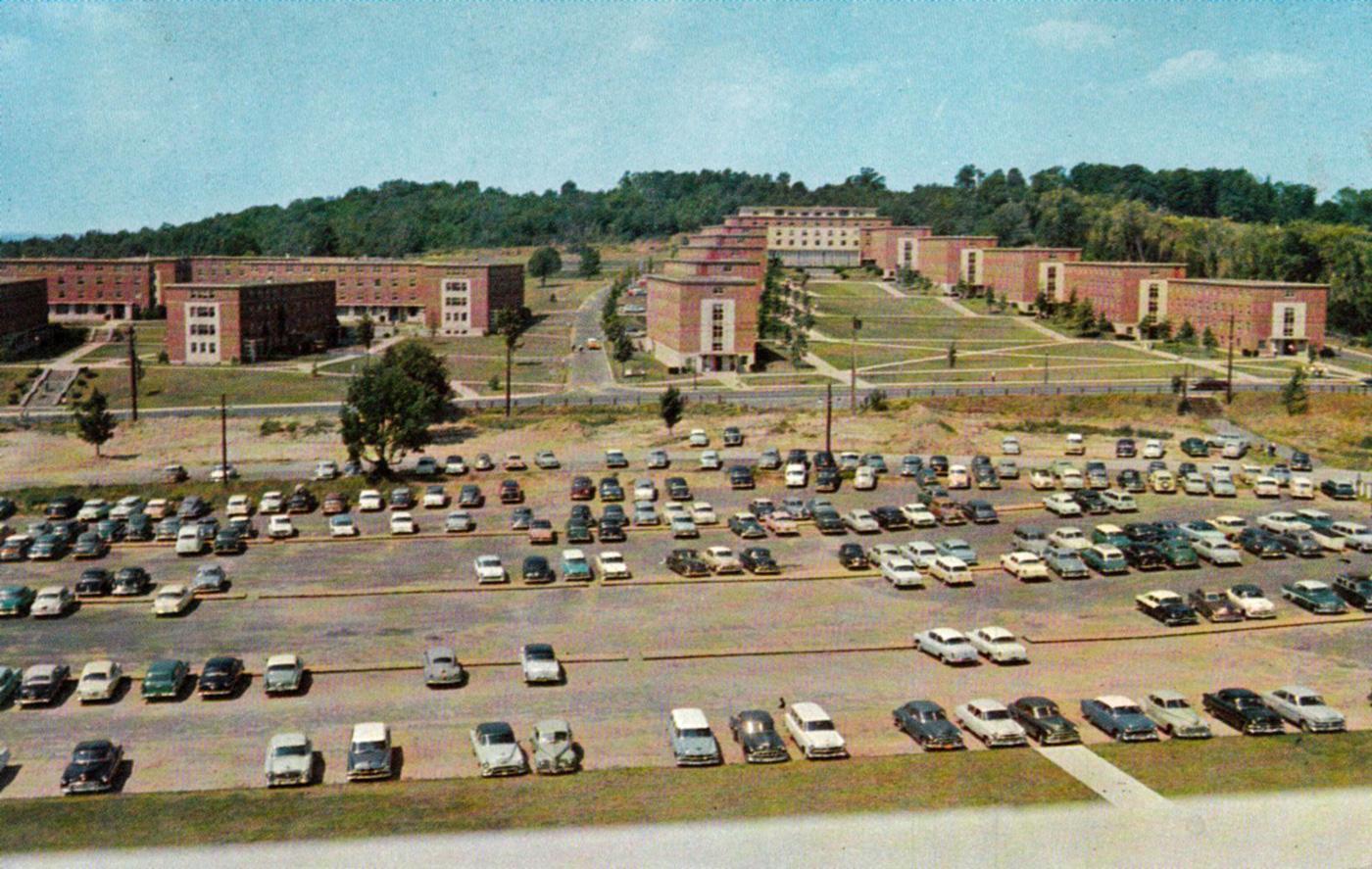 North Campus UConn 1950s