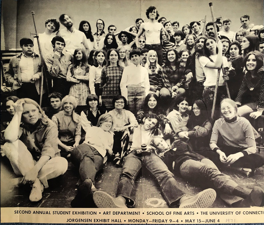 class photo from UConn SFA 1971