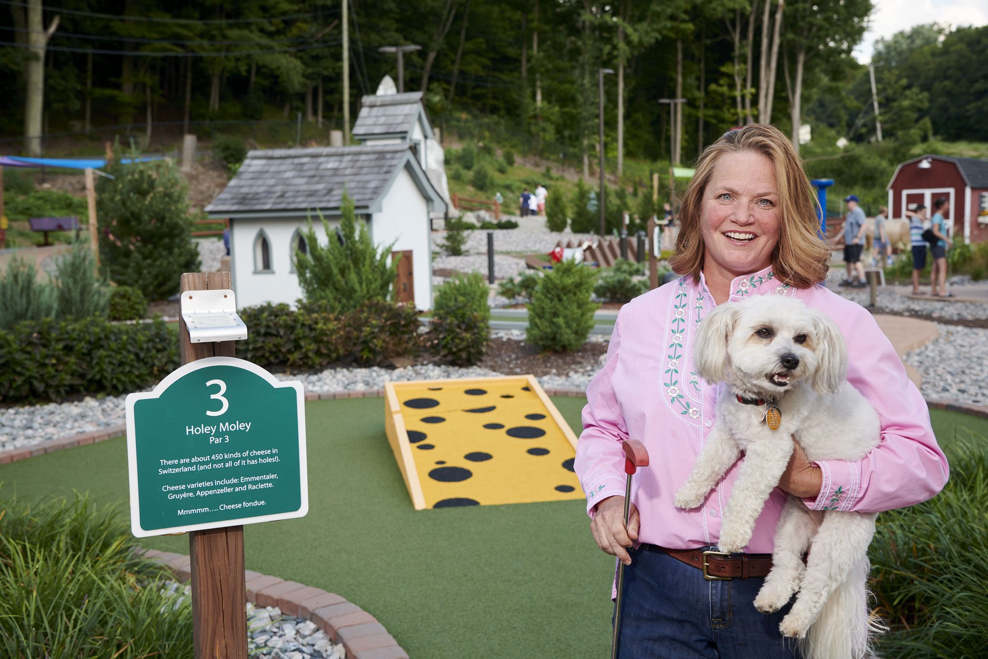 Alumni Autumn Sutherland owns Matterhorn Mini Golf Course