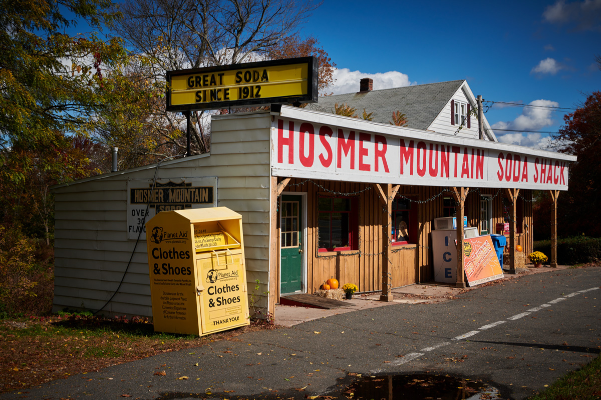 The Hosmer Mountain Soda Shack in Manchester