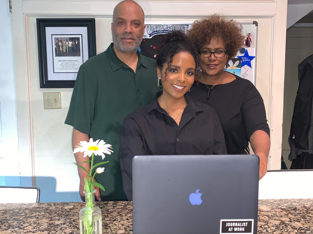 Maya Moore and her parents