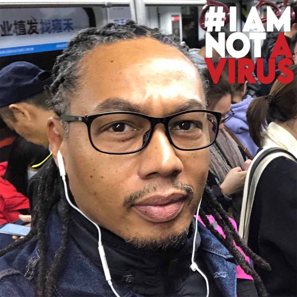 I am not a Virus Campaign portrait