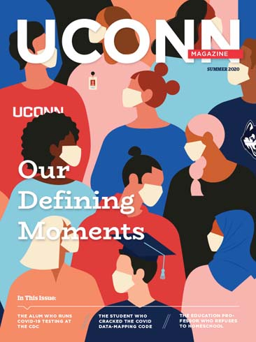 Cover of UConn Magazine Summer 2020 Issue