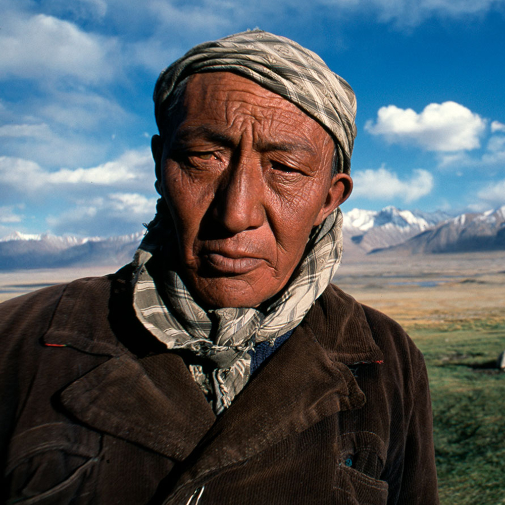 Kirghiz shepherd in the Wakhan Corridor, Afghanistan, 2004.