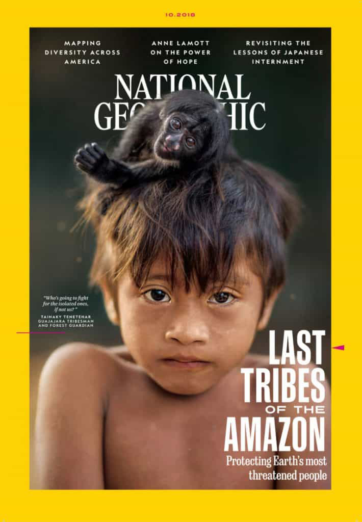 National Geographic Cover- The Last Tribes of the Amazon