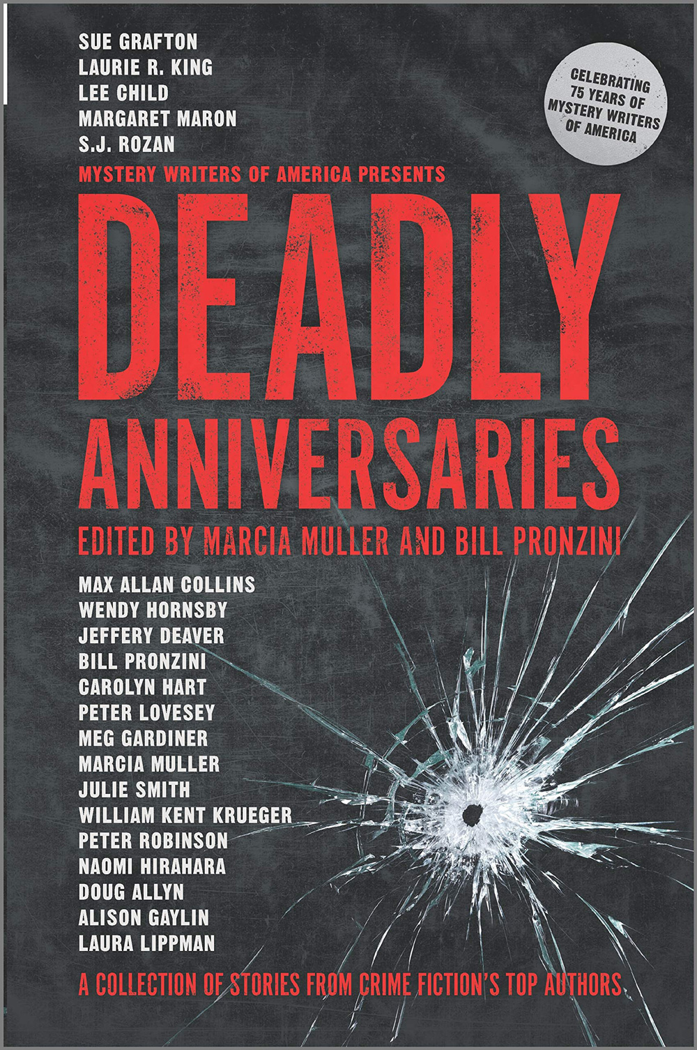"""Deadly Anniversaries"" edited by Marcia Muller and Bill Pronzini"
