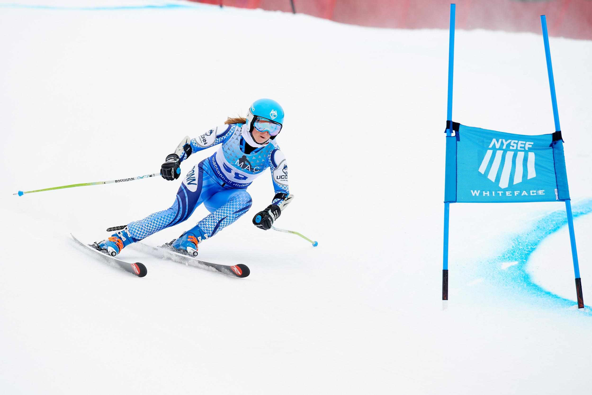 UConn's Ski Team Sydney Murner '21