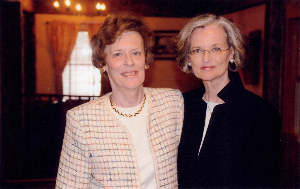 """Margaret """"Peggy"""" E. Sczesny '69 (NUR), '79 MS and Carol Ann (Knott) Conboy '69 (ED)"""