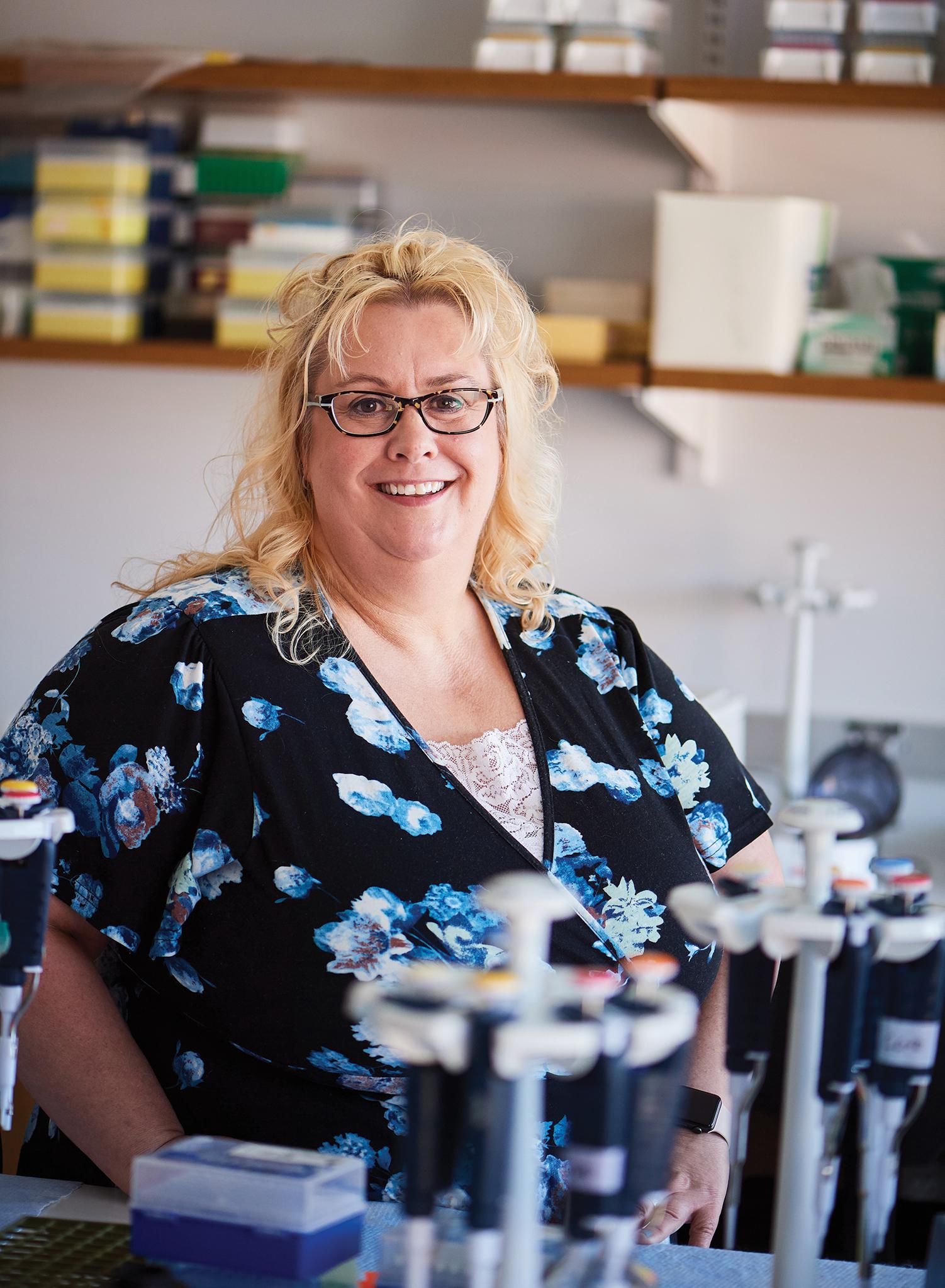 Judy Brown '98 MS, '07 Ph.D.