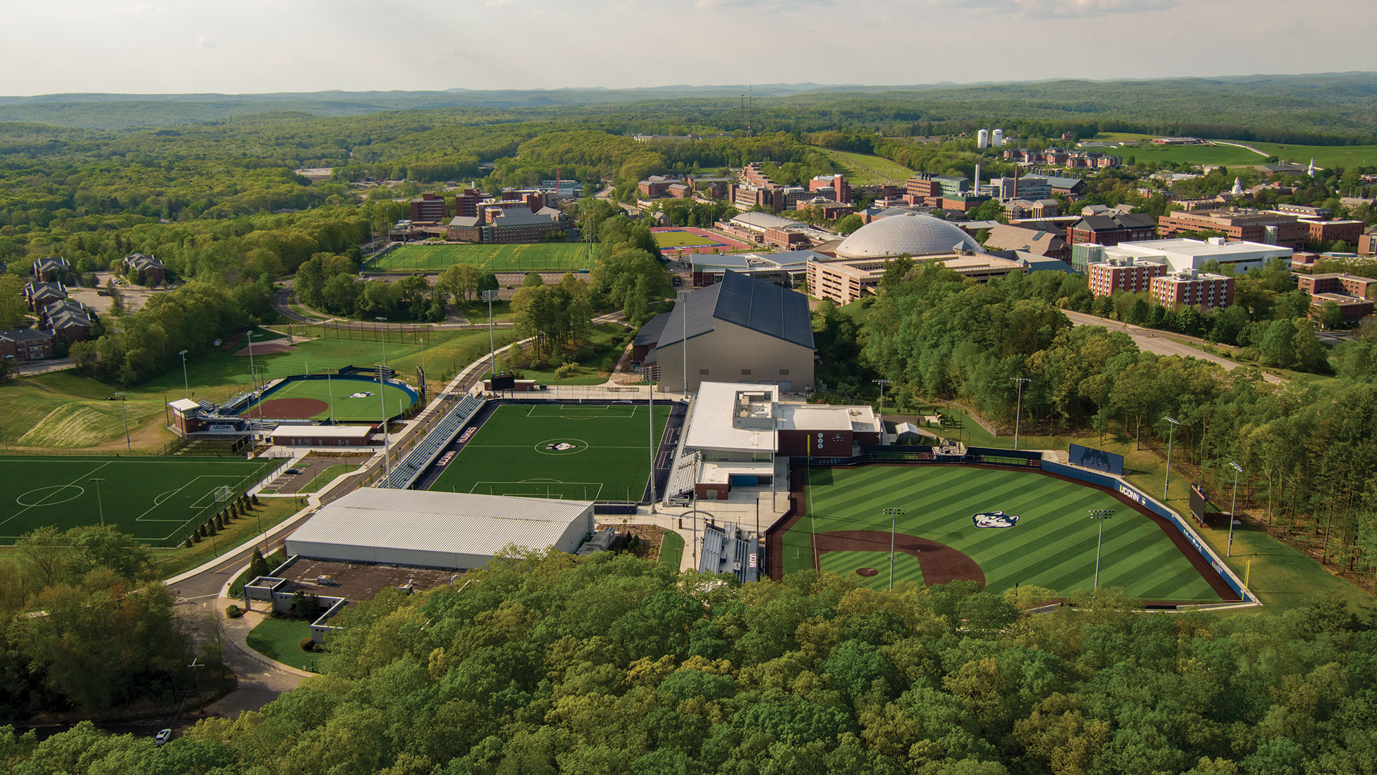 The new Husky Athletic Village and Rizza Performance Center