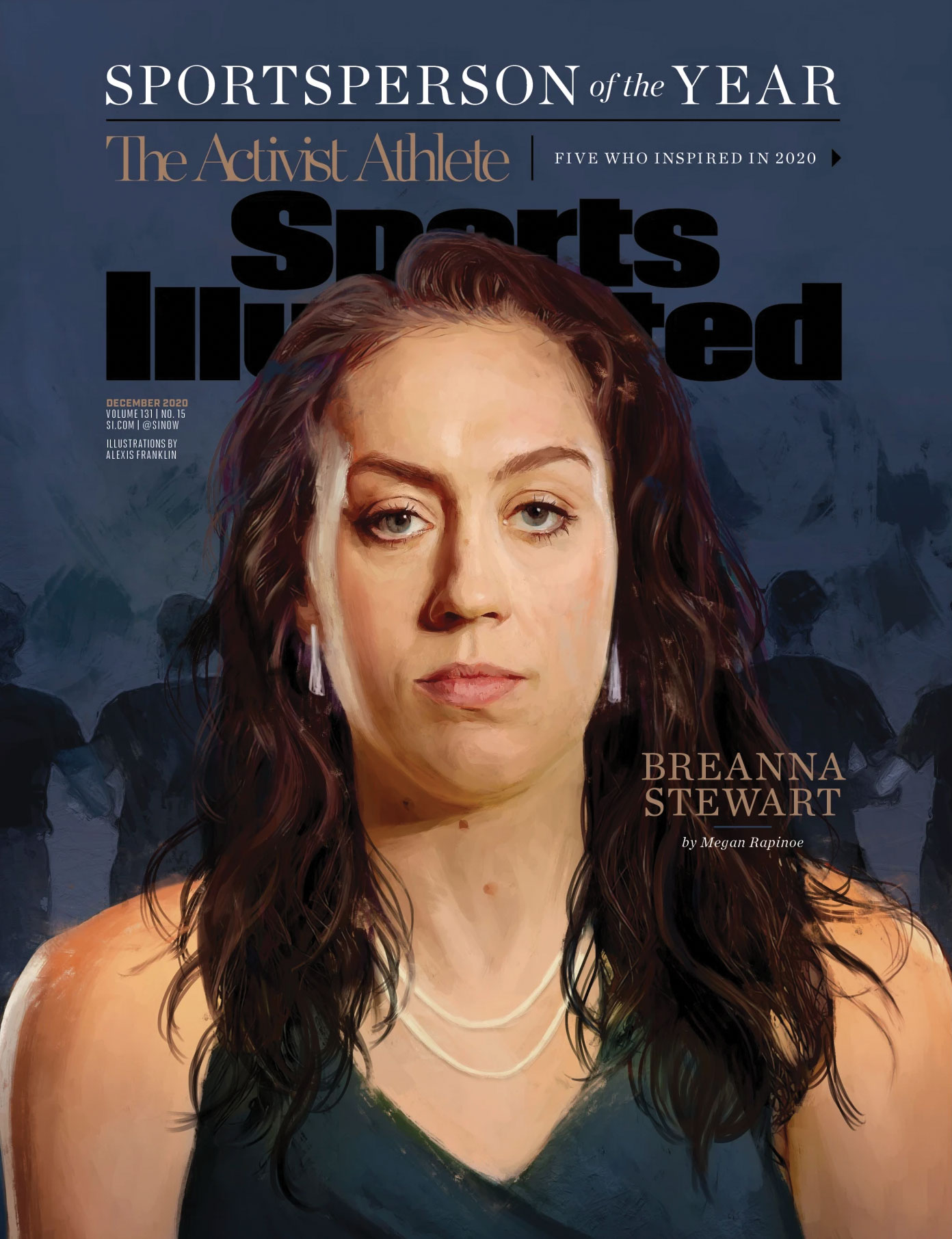 Sports Illustrated Cover featuring Breanna Stewart