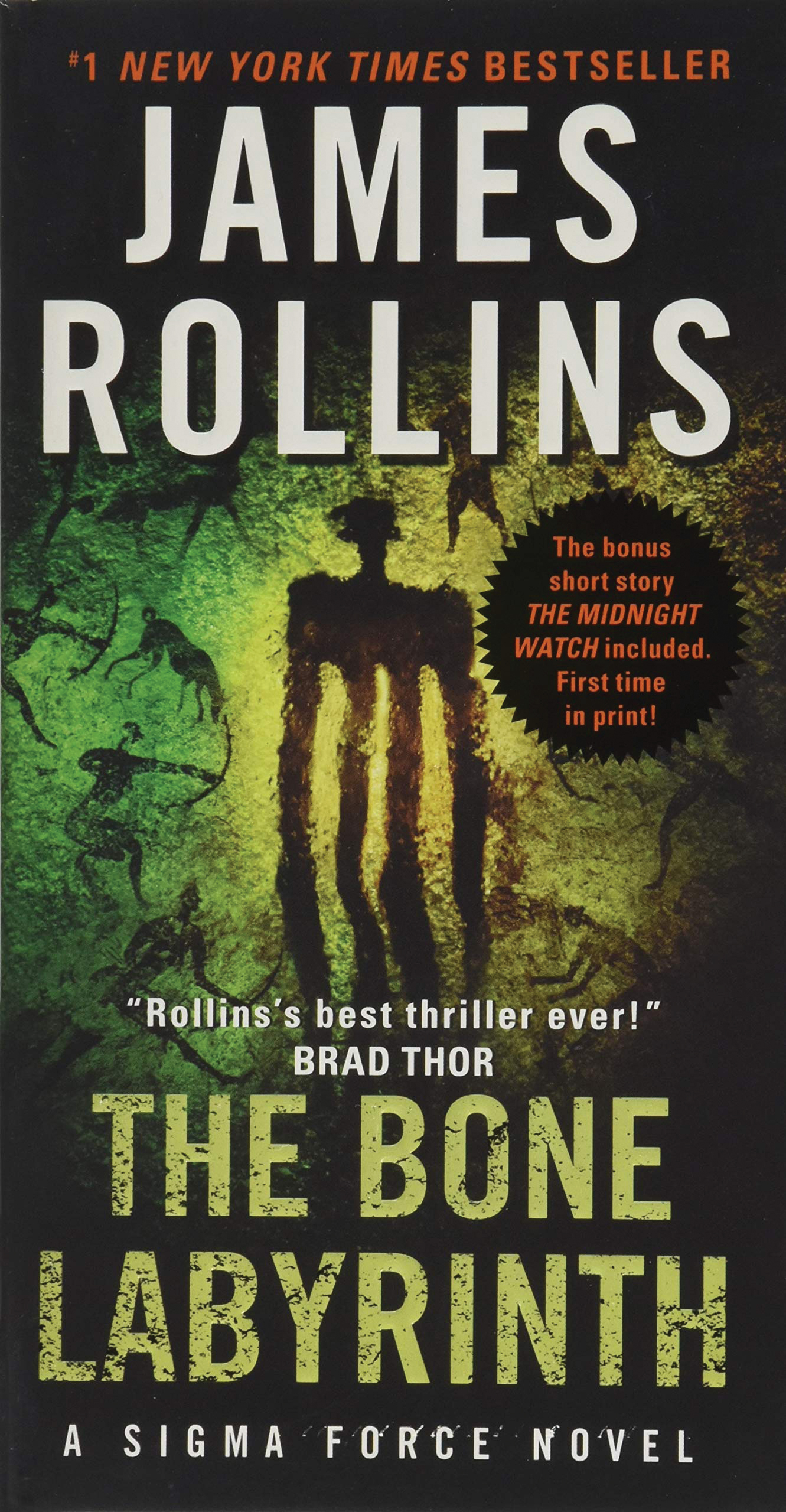 Book, The Bone Labyrinth by James Rollins