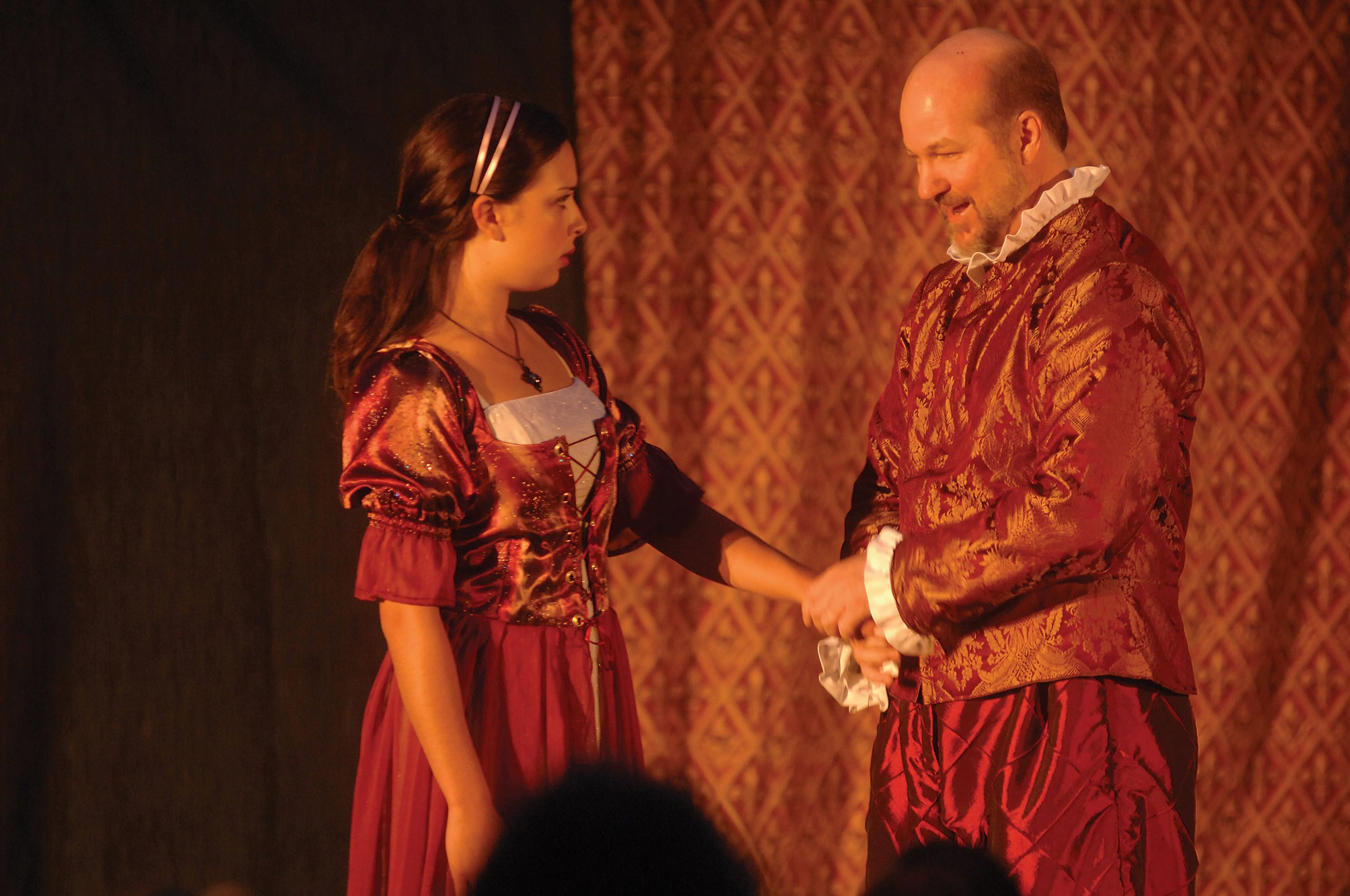 """Geoffrey Sheehan in """"Hamlet"""""""