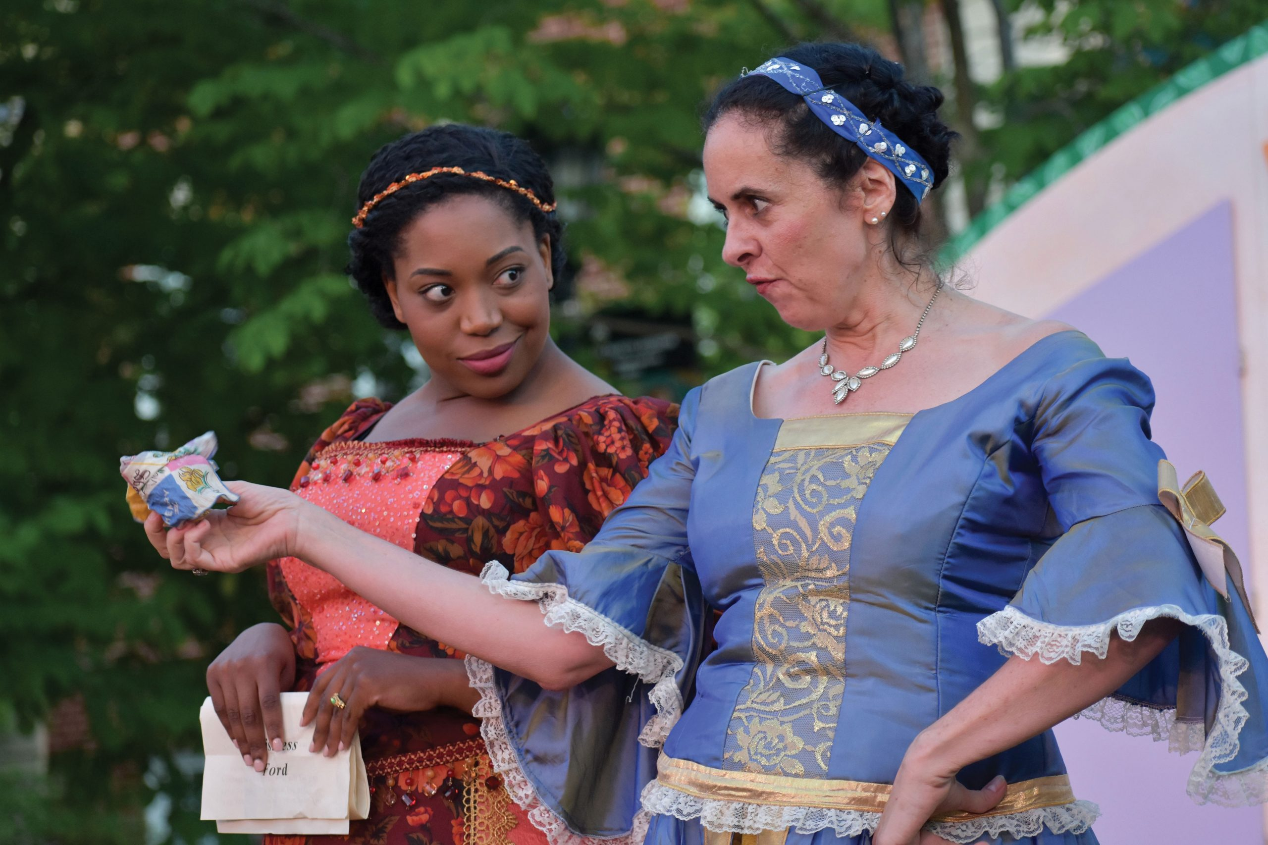 """Laura Sheehan in """"The Merry Wives of Windsor"""""""