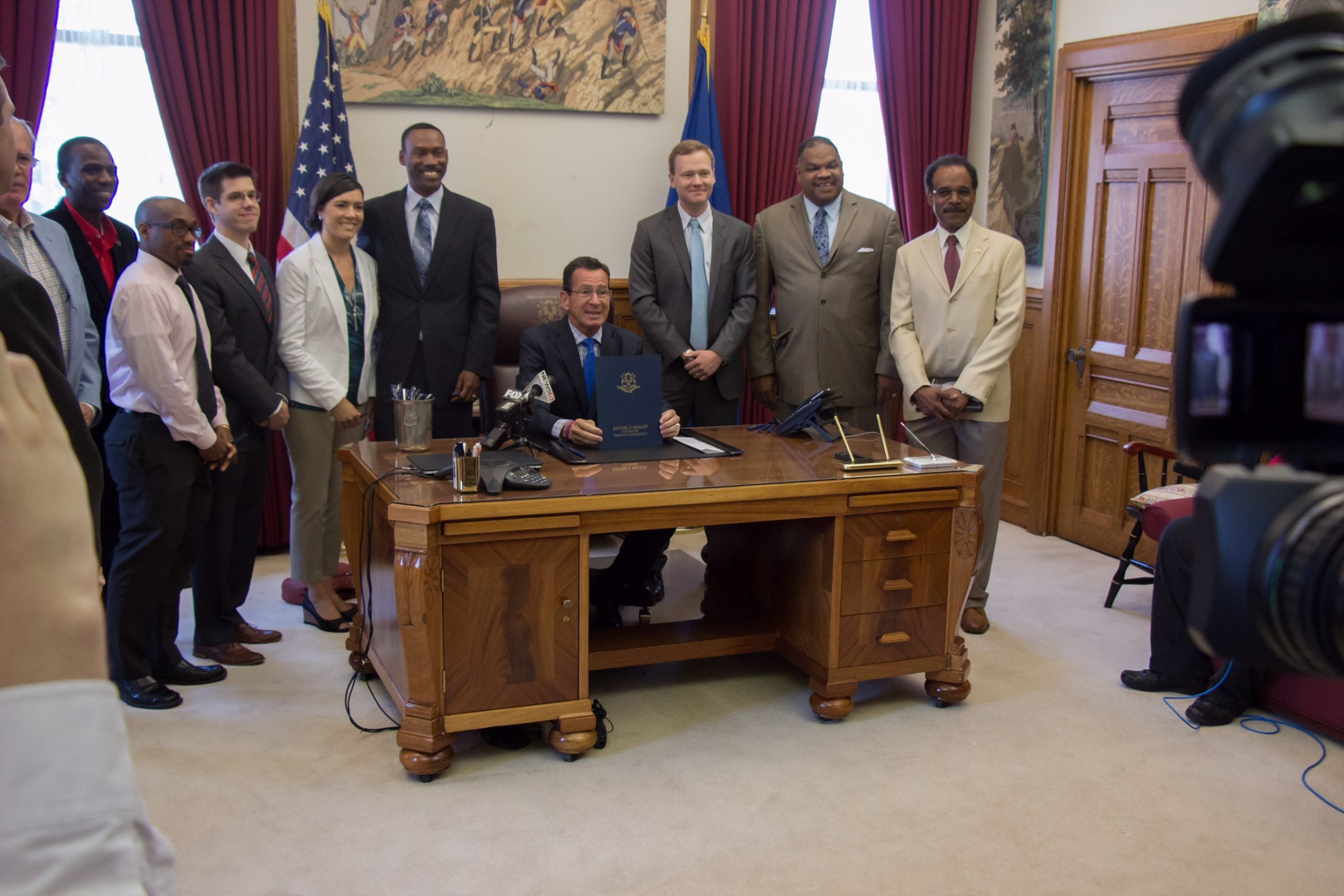 Governor Malloy signs bill