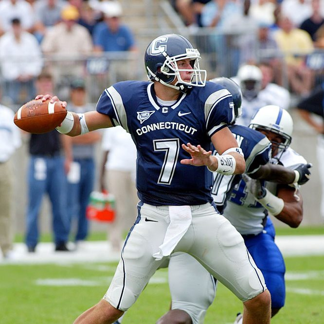 Dan Orlovsky, playing against Duke University